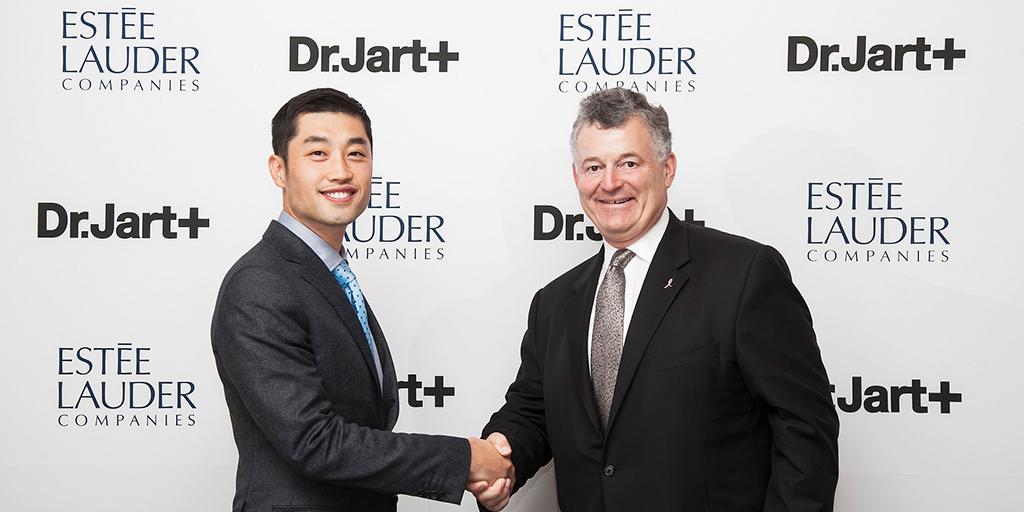 Lee Jinwook and William Lauder