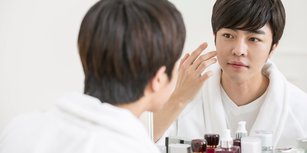 Young Man Skincare