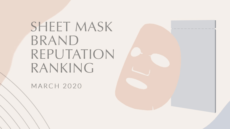 Mask Brand Reputation March 2020