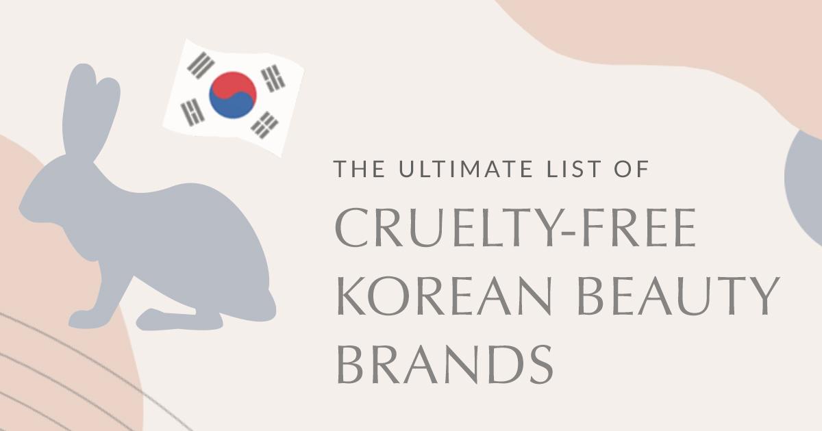 List Of Cruelty Free Korean Beauty