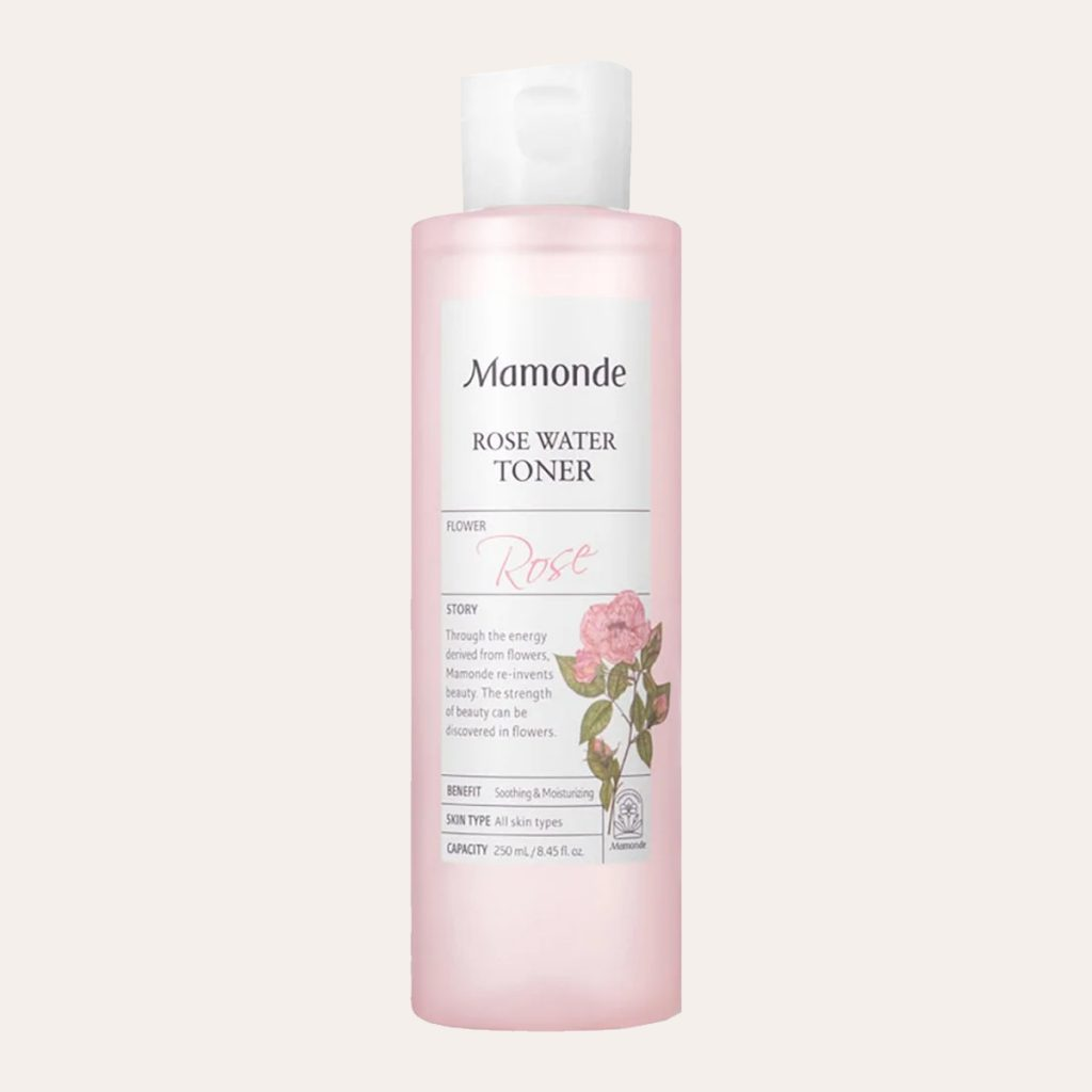 best K-Beauty Products Mamonde - Rose Water Toner