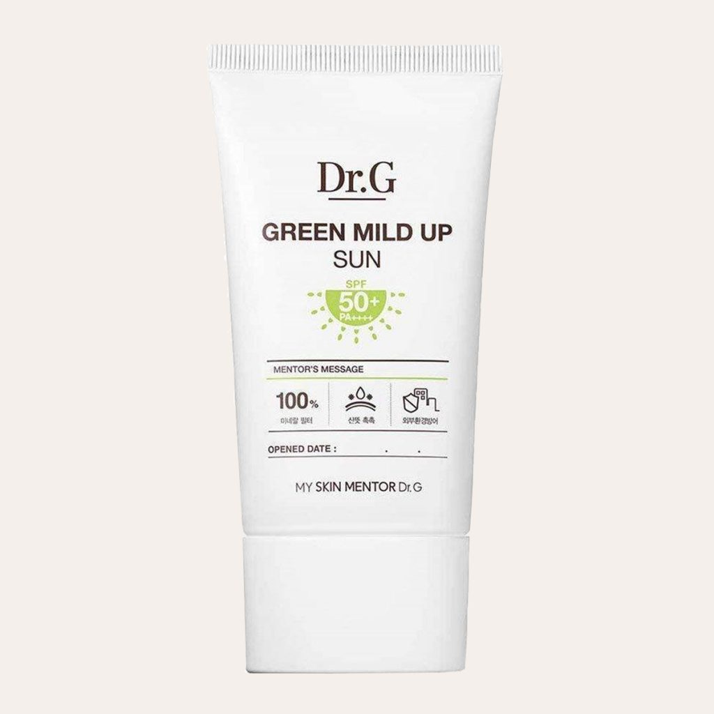 best K-Beauty Products Dr.G – Green Mild Up Sun SPF50+ PA++++