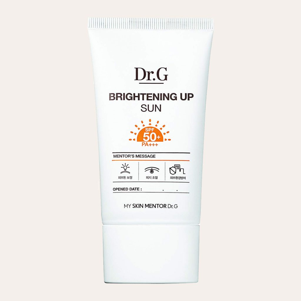 best K-Beauty Products Dr. G – Brightening Up Sun SPF50+ PA+++