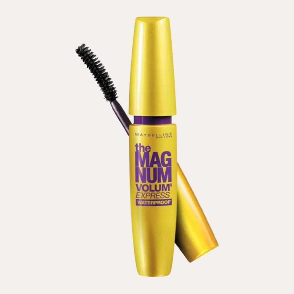 best K-Beauty Products Maybelline New York – Magnum Volum Express Waterproof Mascara