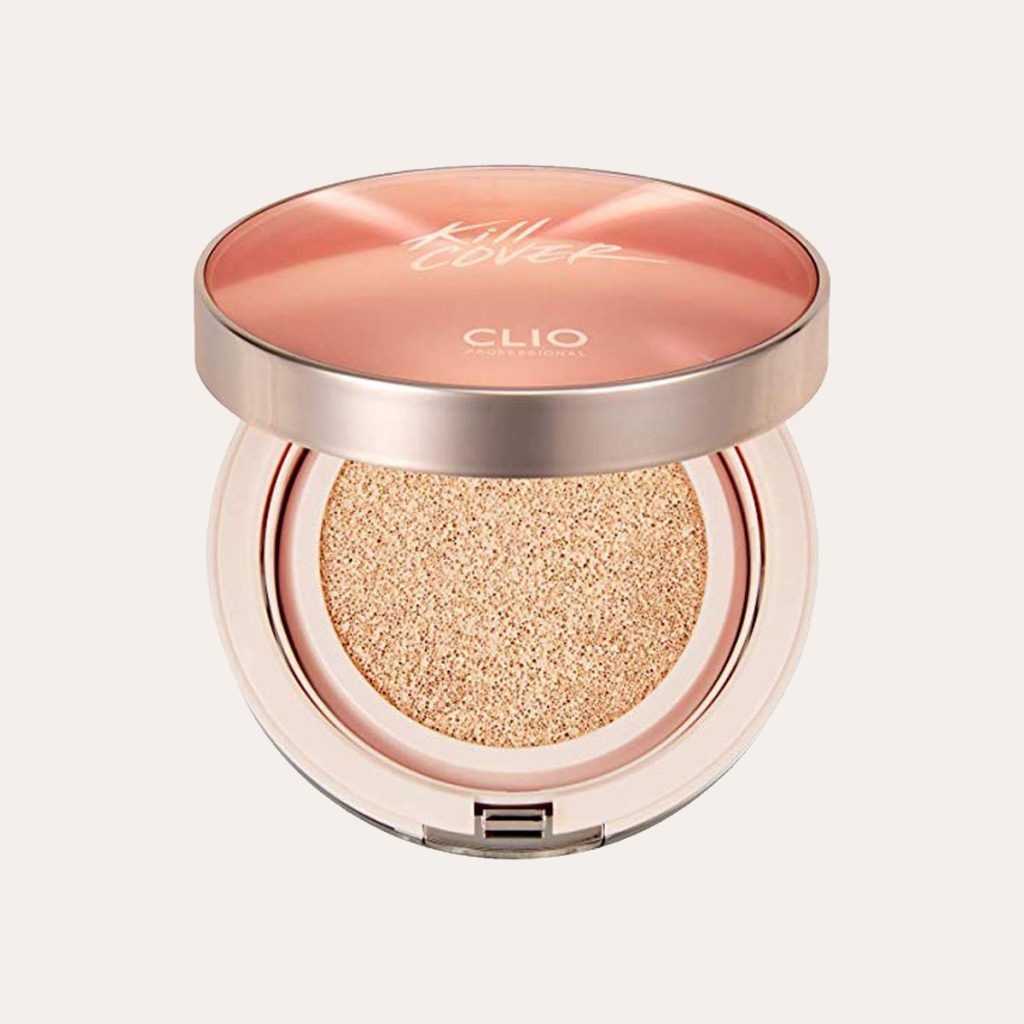 Clio – Kill Cover Glow Cushion SPF50+ PA+++ (#002 Lingerie)