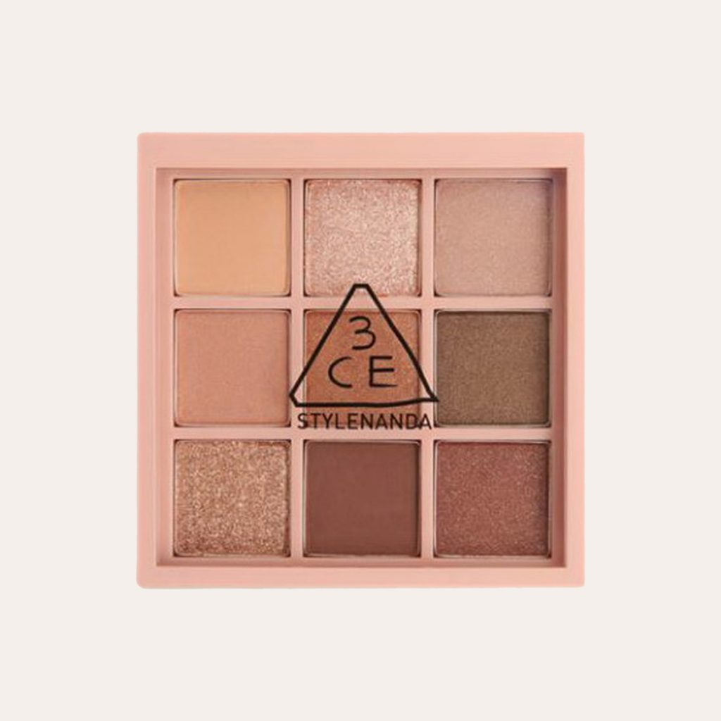 best K-Beauty Products 3CE – Mood Recipe Multi Eye Color Palette (#OVERTAKE)