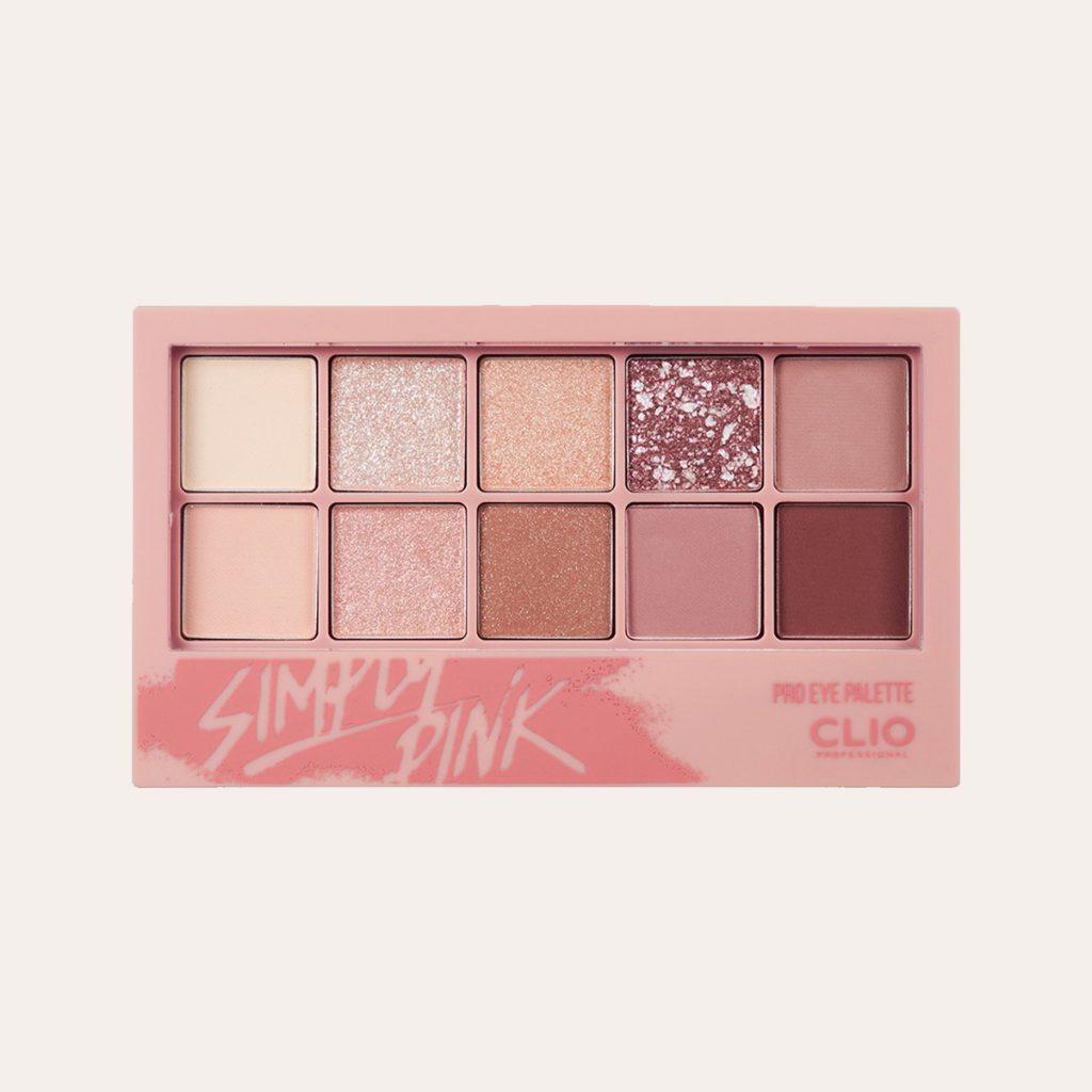 Clio – Pro Eye Palette (#001 Simply Pink)