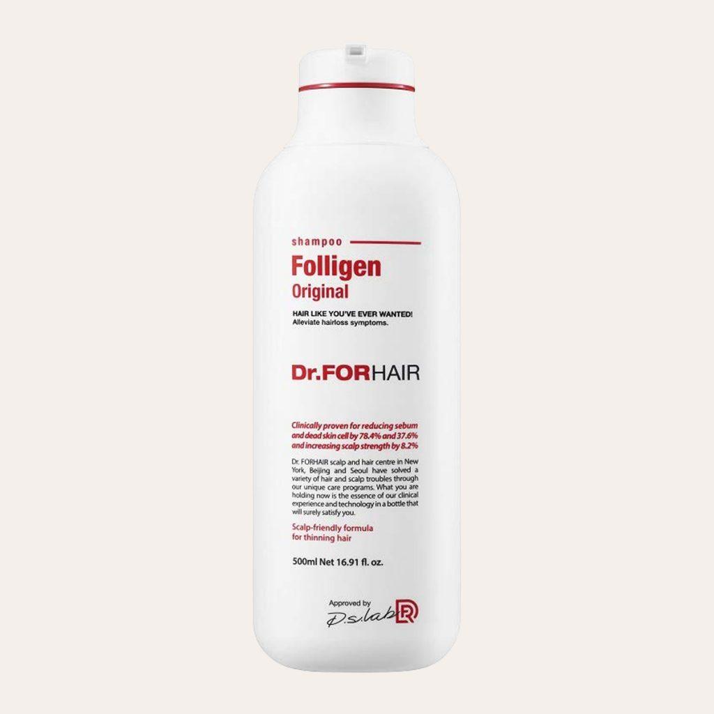 best K-Beauty Products Dr.FORHAIR – Folligen Shampoo