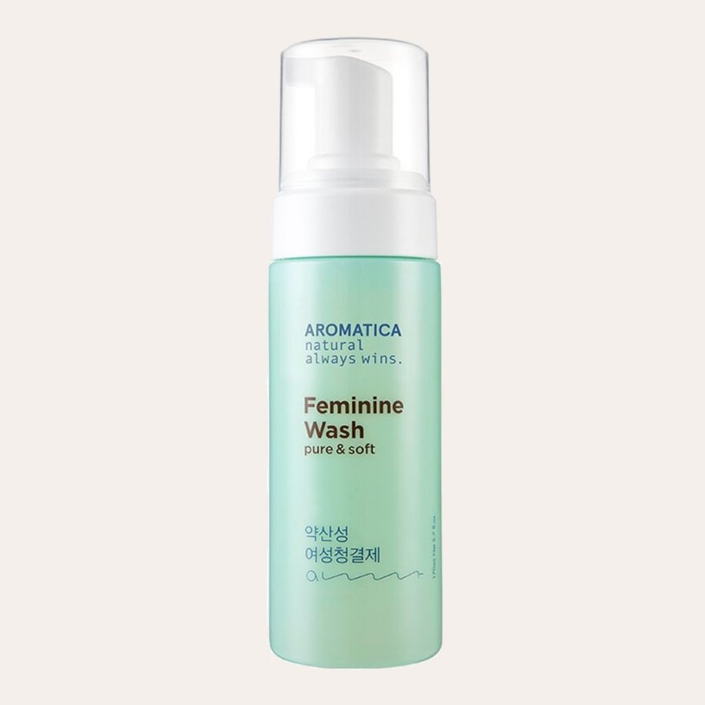 best K-Beauty Products Aromatica – Feminine Wash Pure & Soft