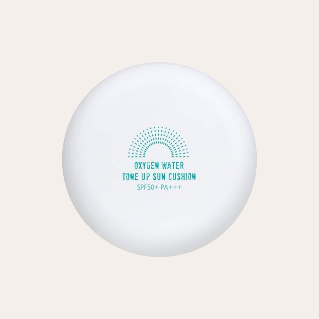 Shingmulnara – Oxygen Water Tone Up Sun Cushion SPF50+/PA+++