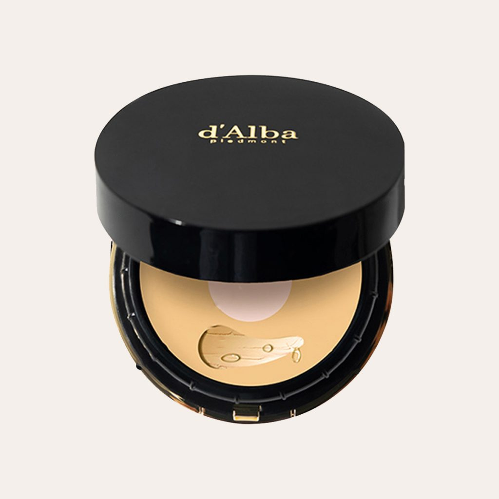 d'Alba - Noble Grinding Essence Cover Pact SPF50+ PA+++