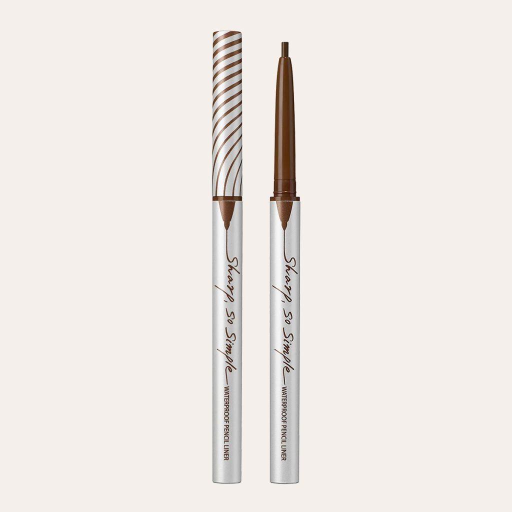 Clio – Sharp So Simple Waterproof Pencil Liner (Cacao Brown)