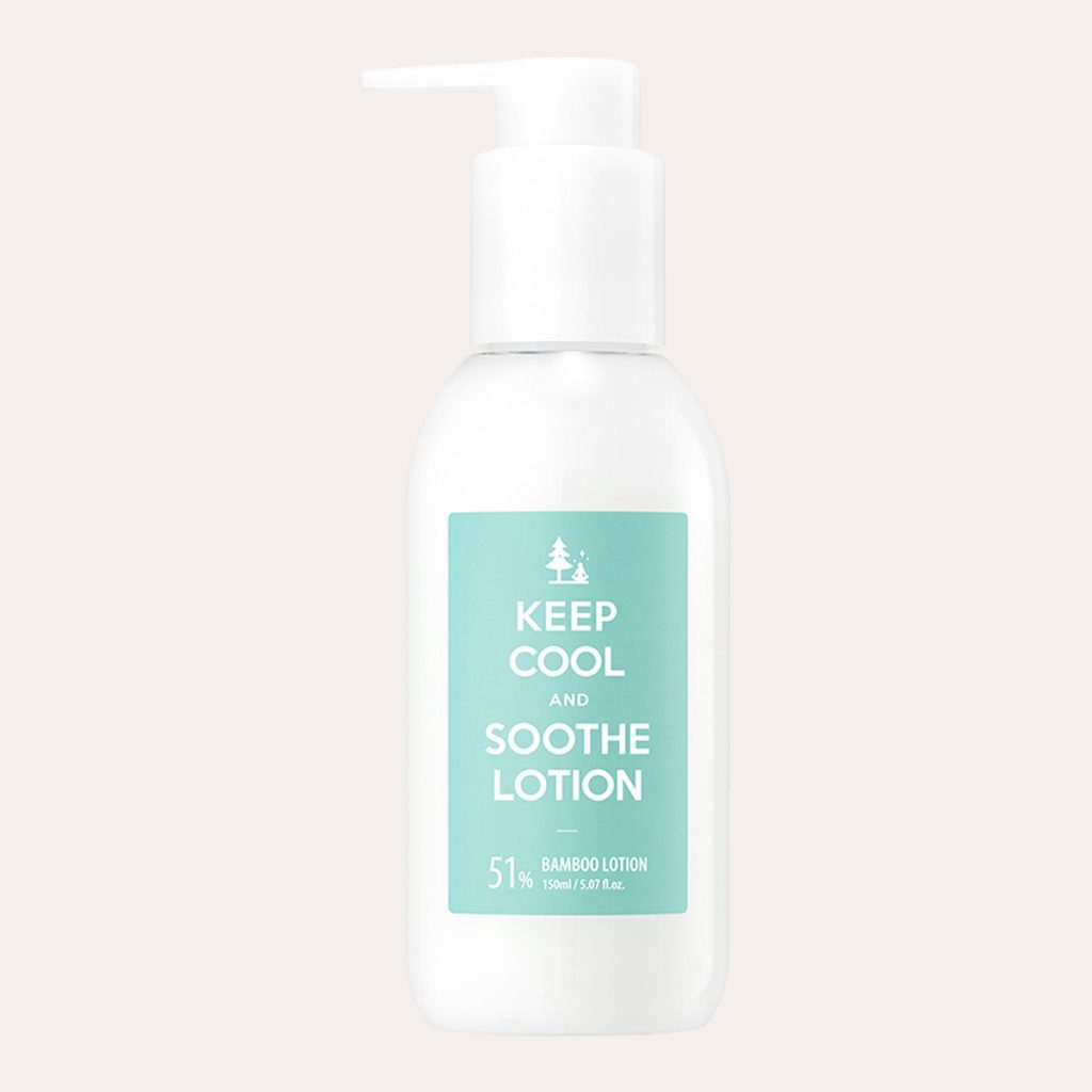Keep Cool – Soothe Bamboo Lotion