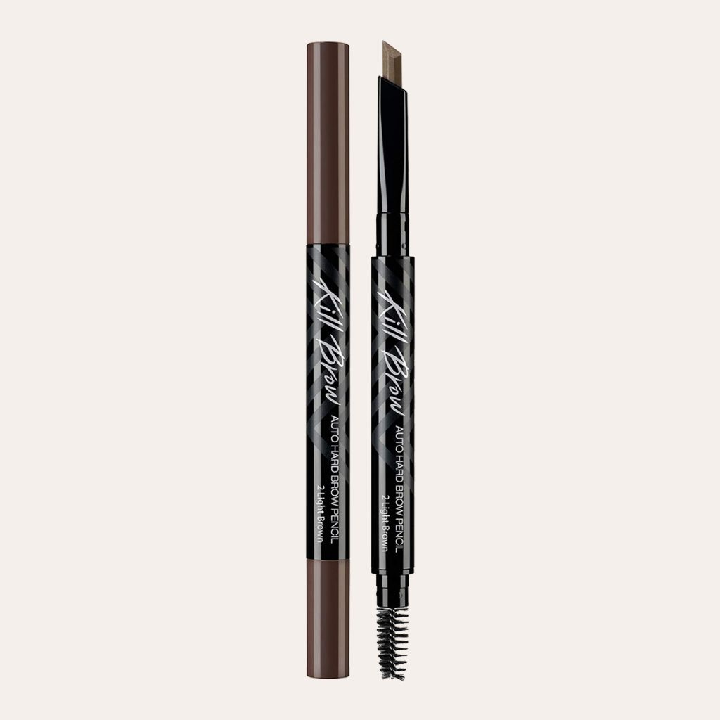 Clio - Kill Brow Auto Hard Eyebrow Pencil (#001 Natural Brown)