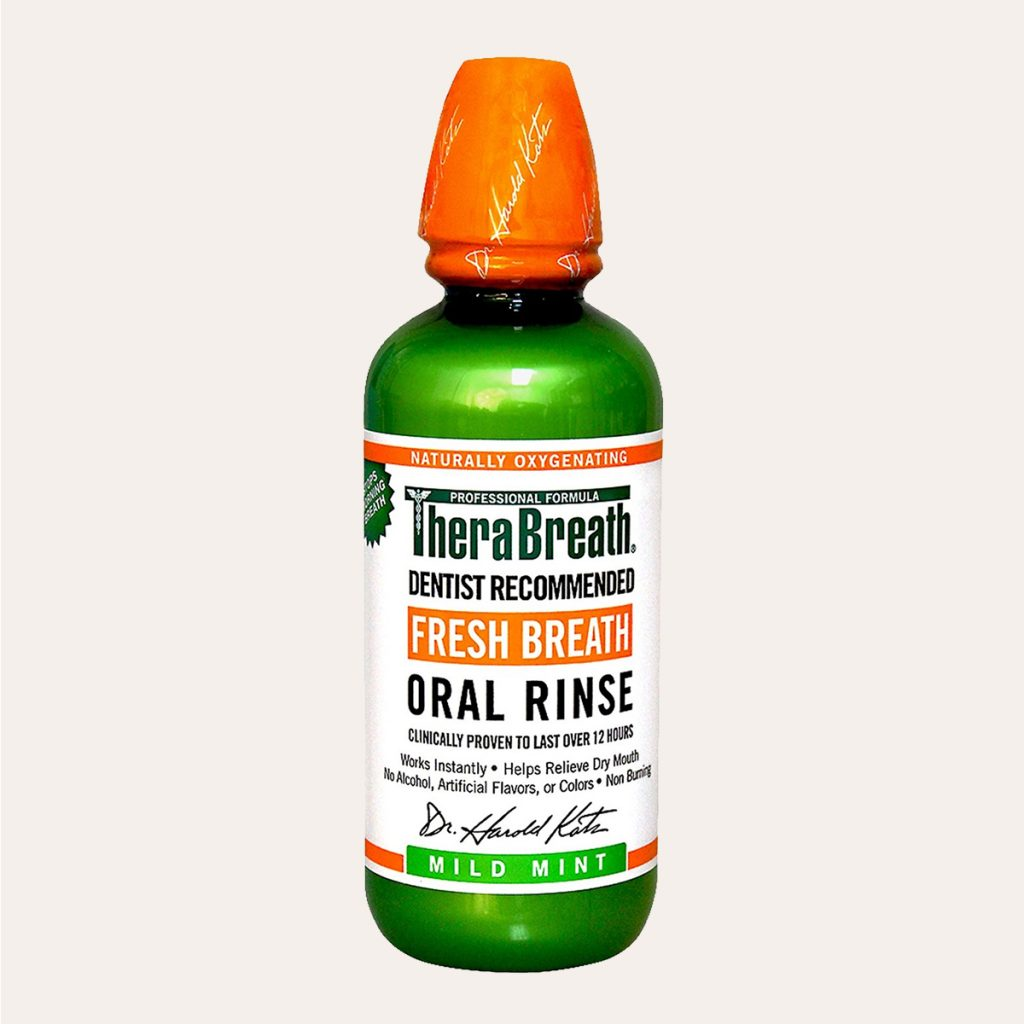 TheraBreath – Mild Mint Oral Rinse