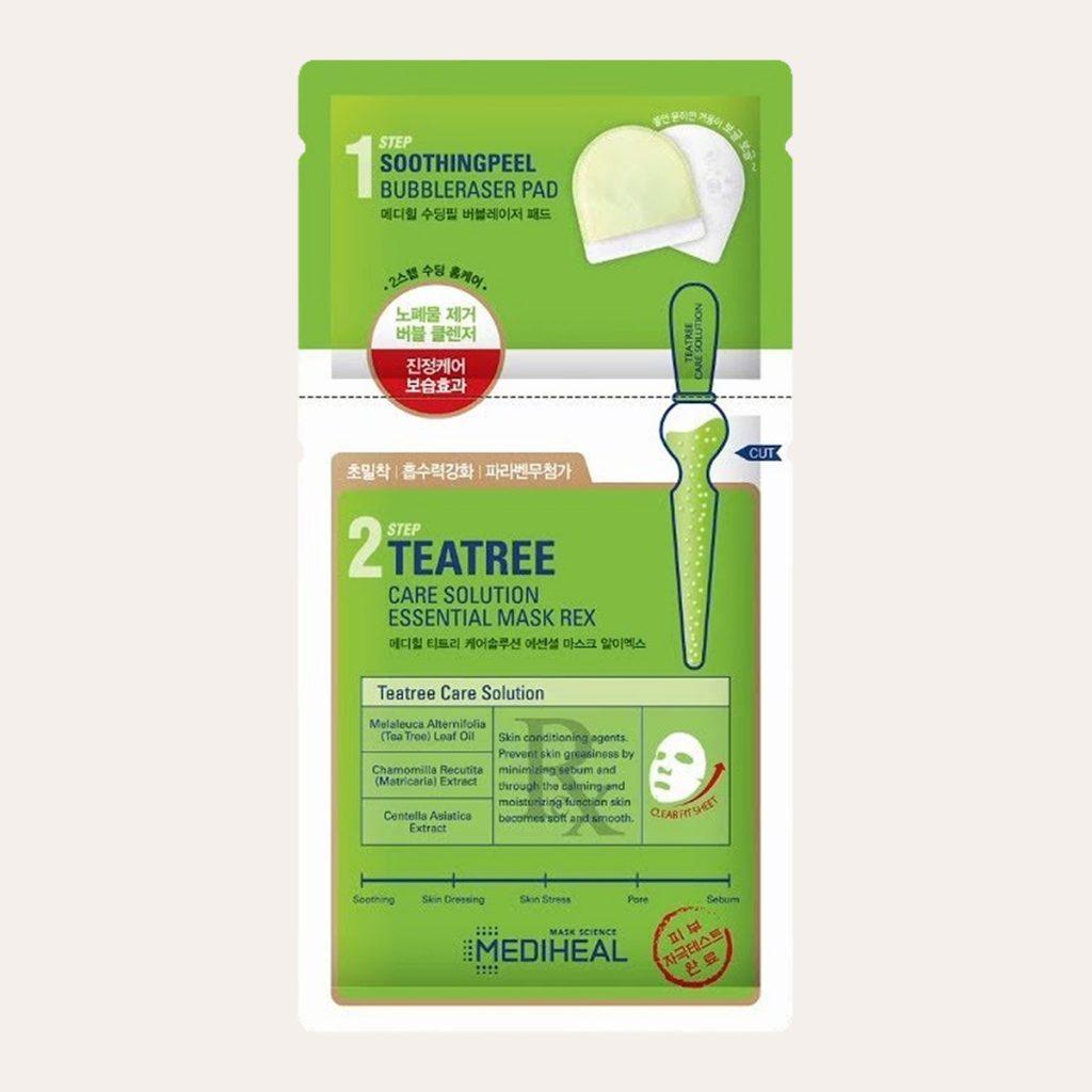 Mediheal – Teatree Care Solution Essential Mask 2-Step REX