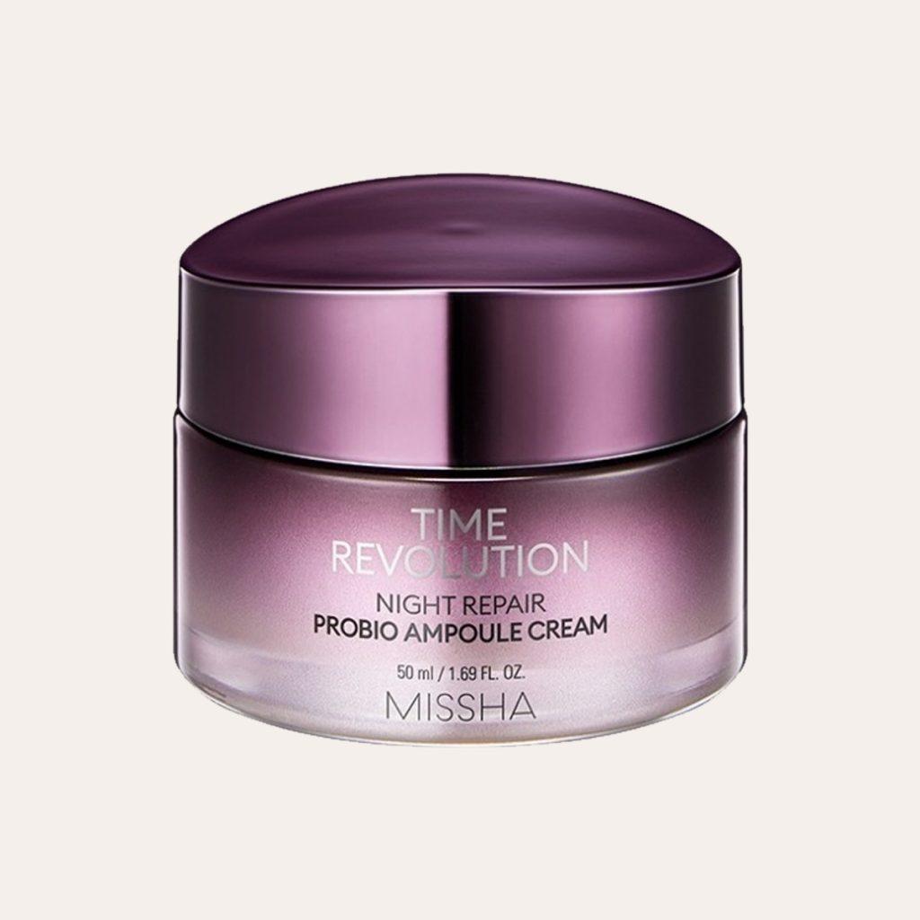 Missha – Time Revolution Night Repair Probio Ampoule Cream