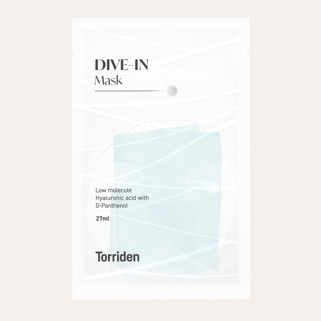 Torriden - Dive In Low Molecule Hyaluronic Acid with D-Panthenol Mask