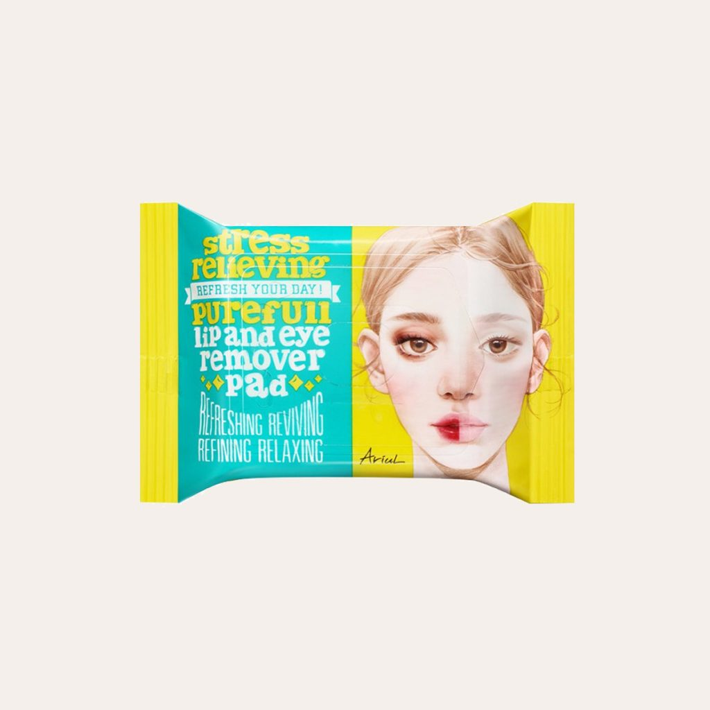 Ariul – Relieving Purefull Lip and Eye Remover Pad