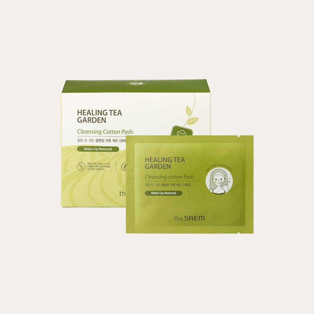 The Saem – Healing Tea Garden Cleansing Cotton Pads