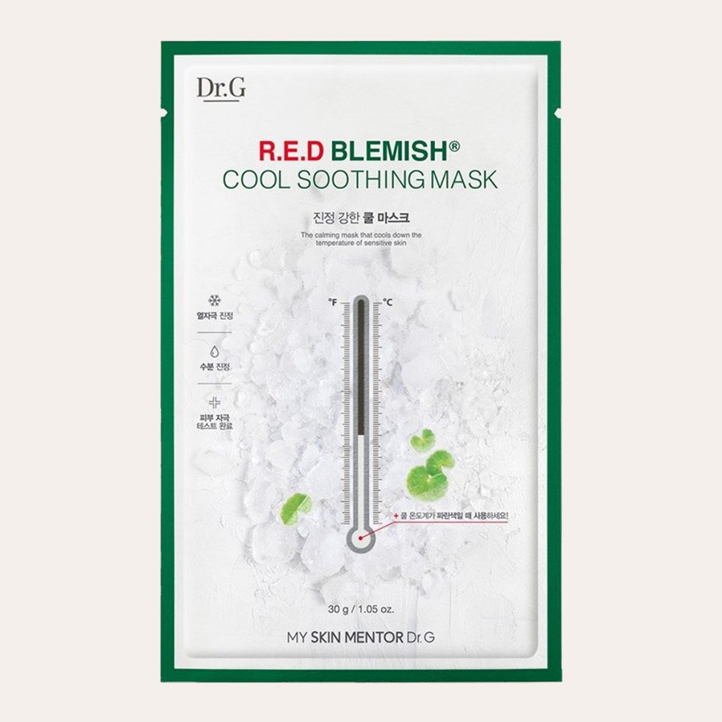 Dr.G Red Blemish Cool Soothing Mask 10pcs