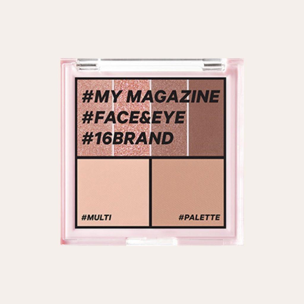 16Brand - My Magazine (#03 Sunshine Nude Mood)