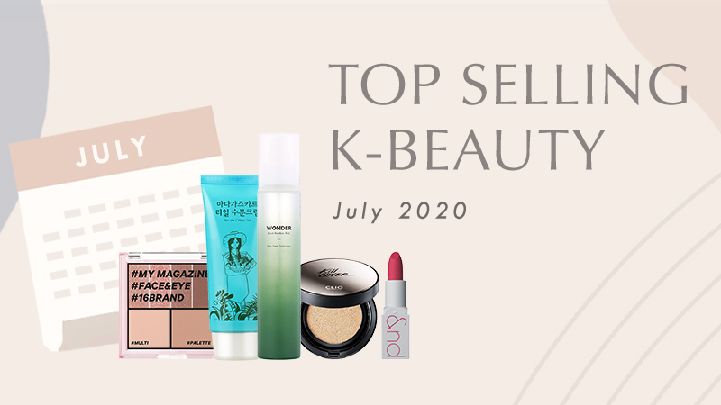 Best Kbeauty July