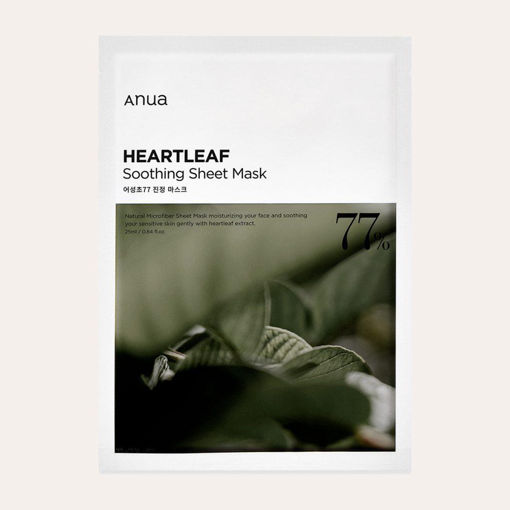 Anua – Heartleaf 77% Soothing Mask