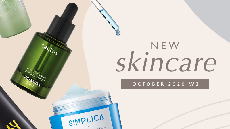 New Korean skincare products [October 2020 - Week 2]