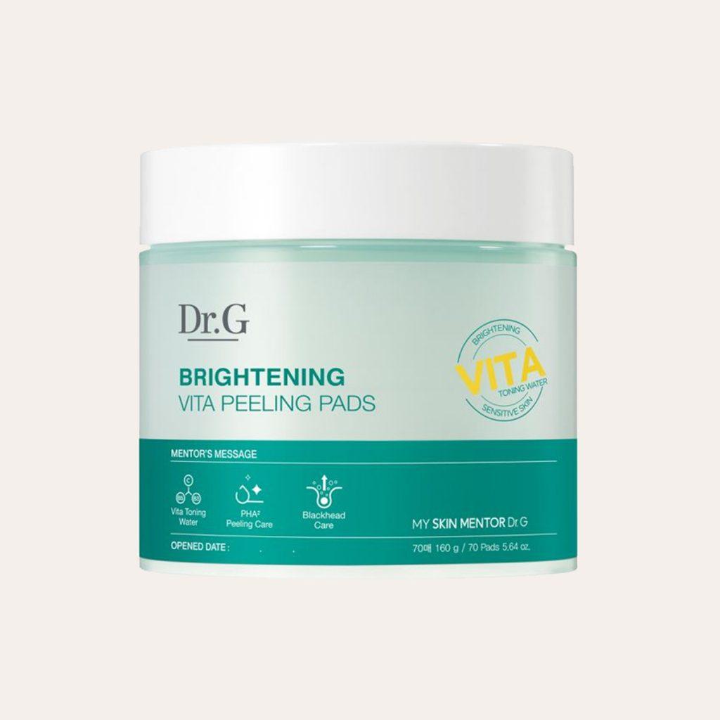 Dr G - Brightening Vita Peeling Pads 2