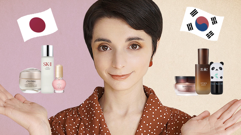 J-Beauty vs K-Beauty: a professional reveals the REAL differences between Japanese and Korean beauty