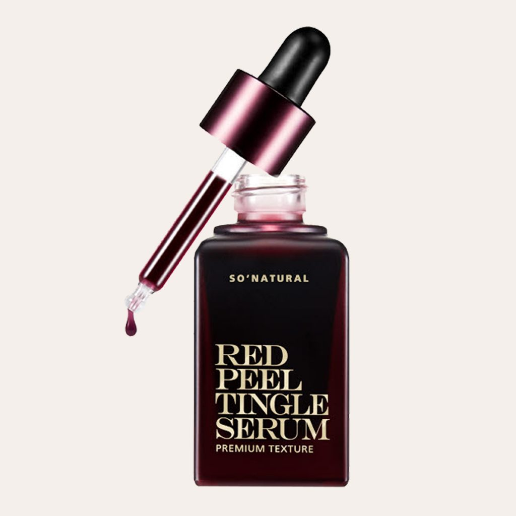 So Natural - Red Peel Tingle Serum Premium Texture