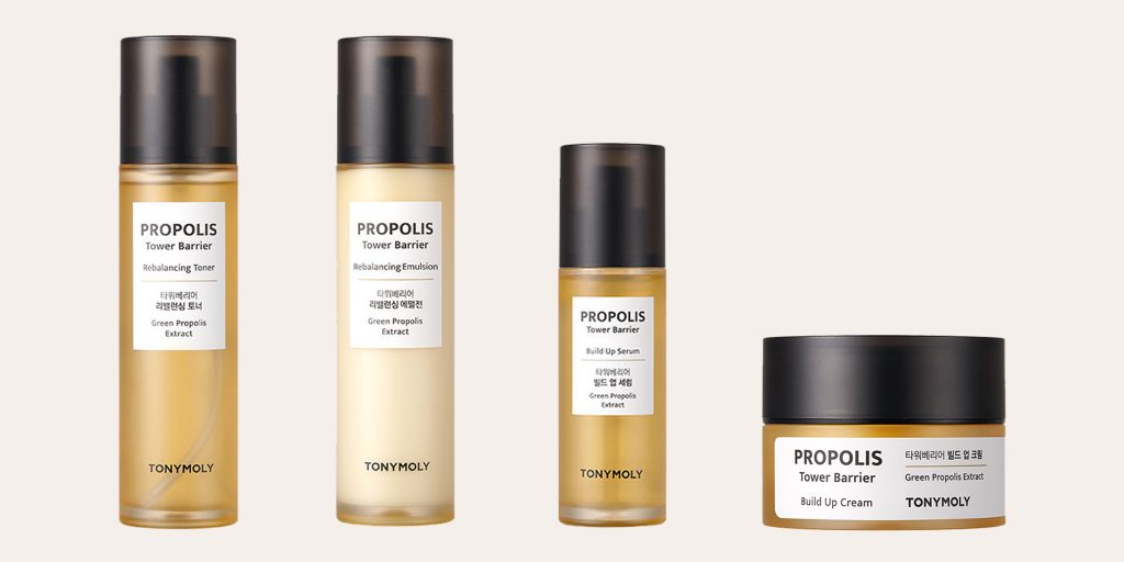 Tonymoly Propolis Tower Barrier full line up