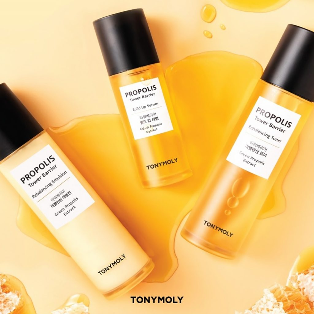 Tonymoly Propolis Tower Barrier line
