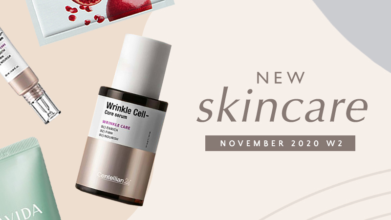 New Korean skincare products [November 2020 - Week 2]