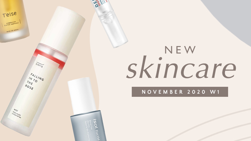 New Korean skincare products [November 2020 - Week 1]