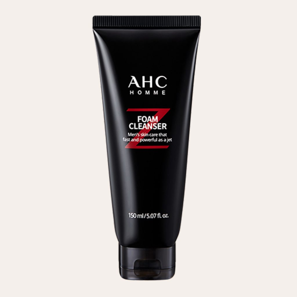 AHC Homme Jet Foam Cleanser