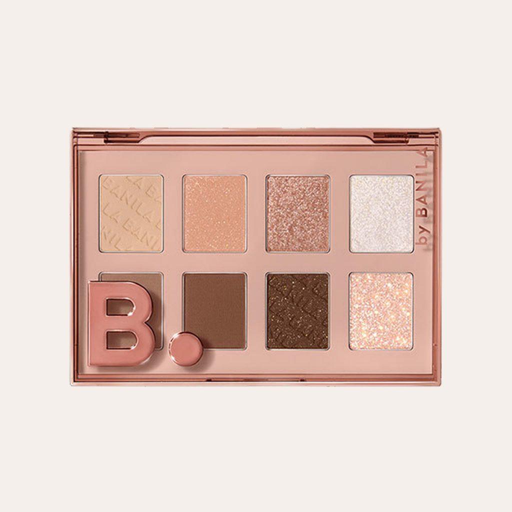 Banila Co - B. by Banila Eye Crush Multi Shadow Palette - Muted Brown