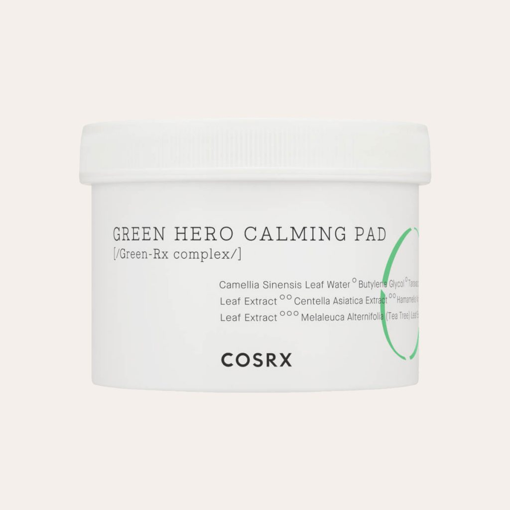 COSRX - One Step Green Hero Calming Pad