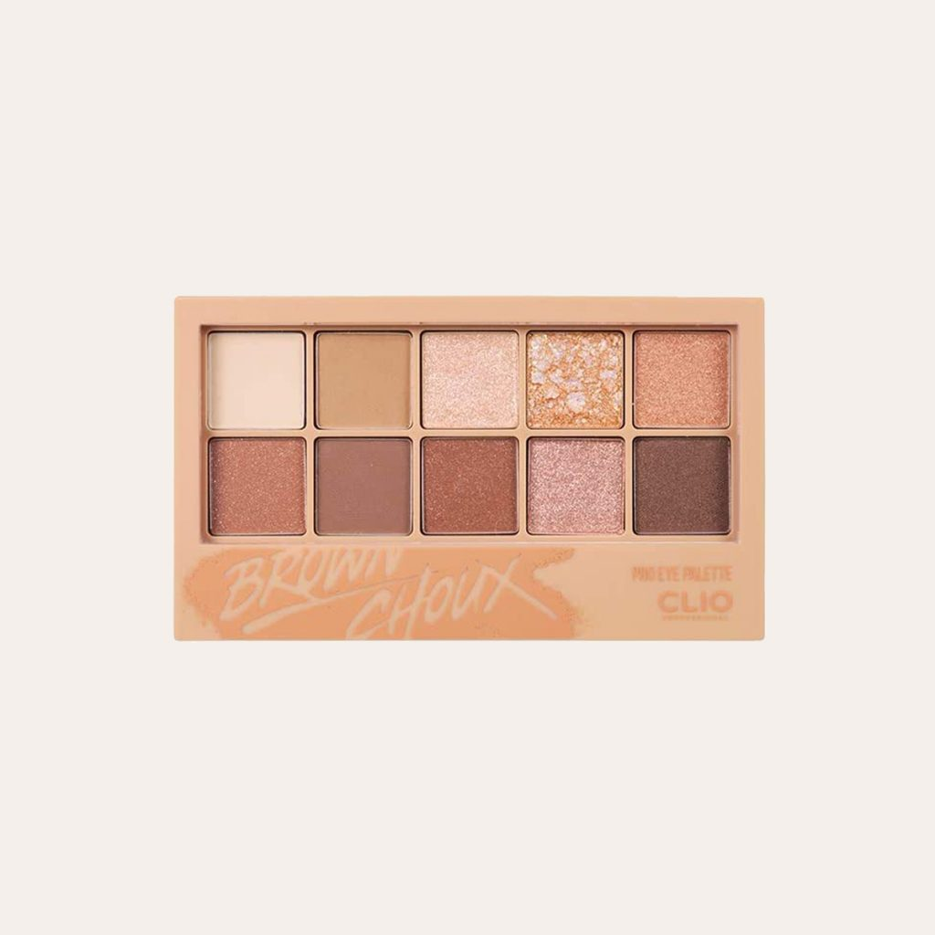 Clio - Pro Eye Palette (#002 Brown Choux)