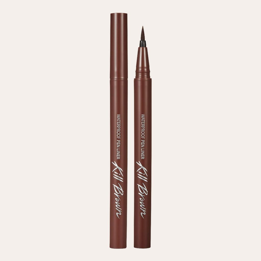Clio - Waterproof Pen Liner Kill Brown Original (#002 Brown)