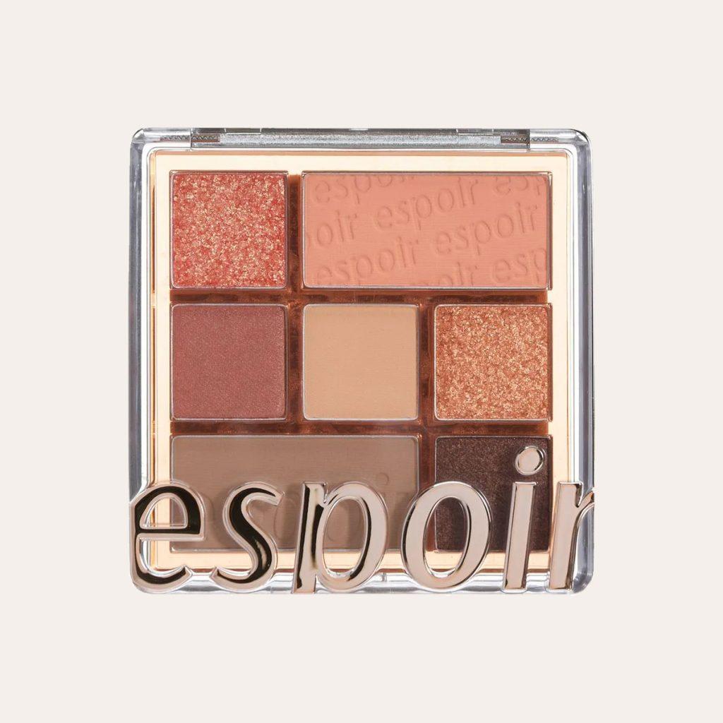 Espoir - Real Eye Palette (#1 Peachy Like)