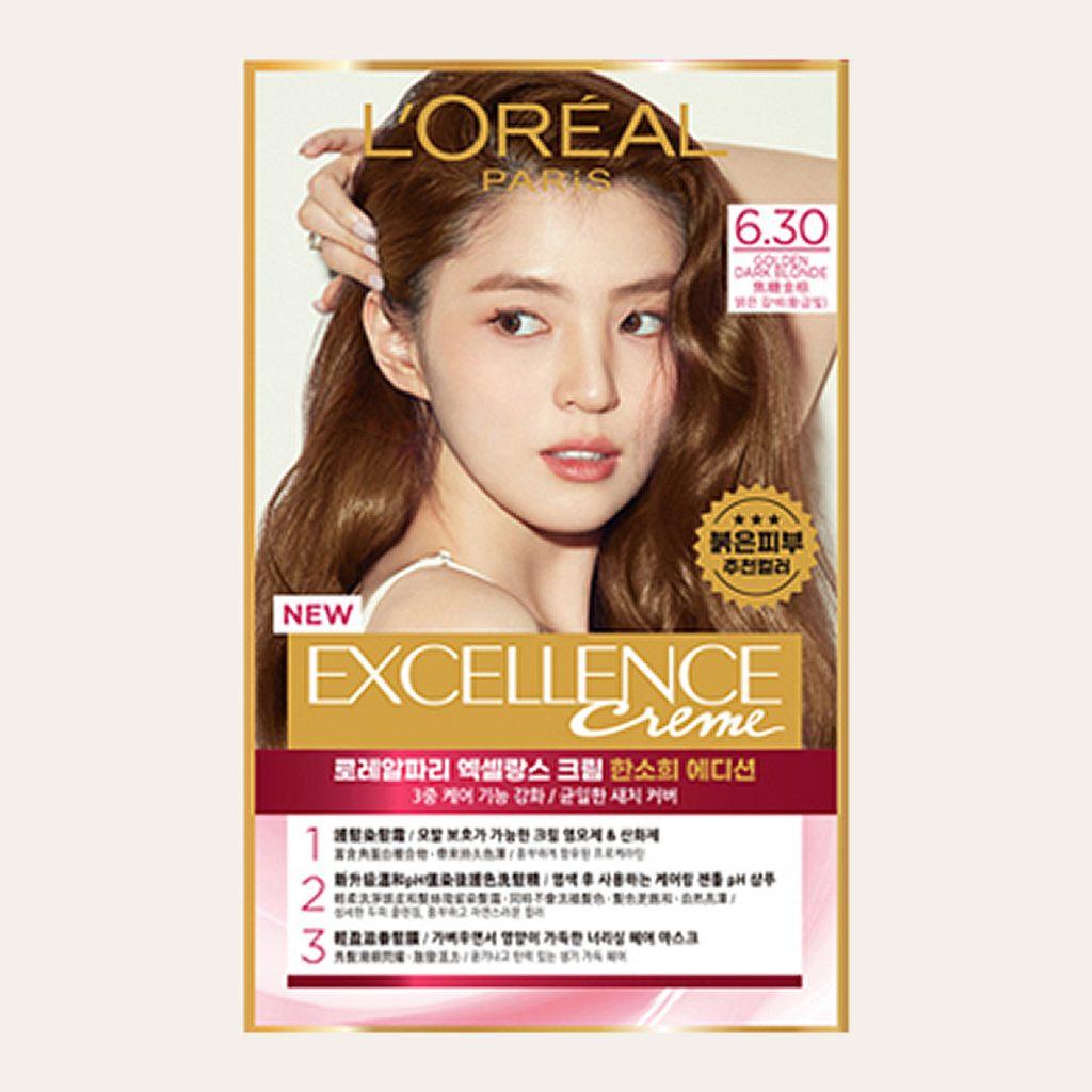 L'Oréal - Excellence Crème (#6.30 Golden Dark Blonde)