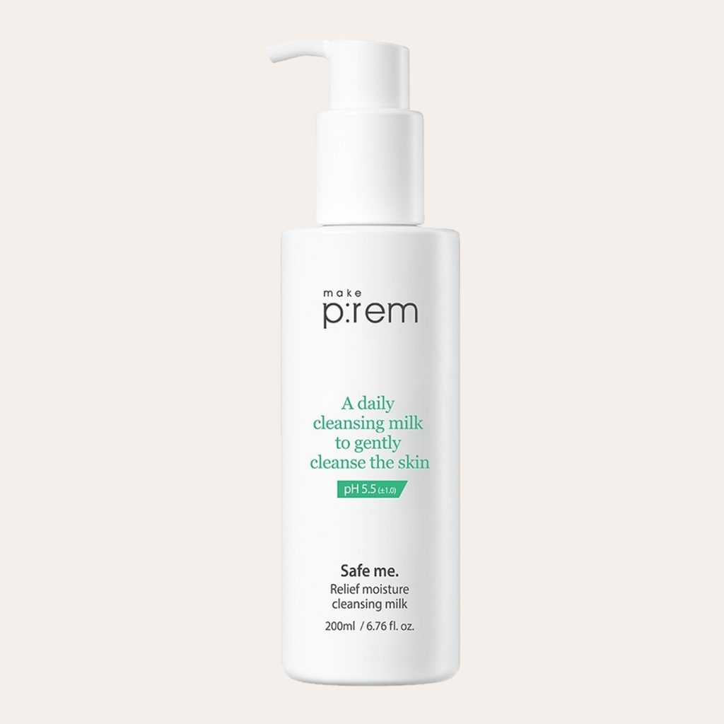 Make prem - Safe Me. Relief Moisture Cleansing Milk
