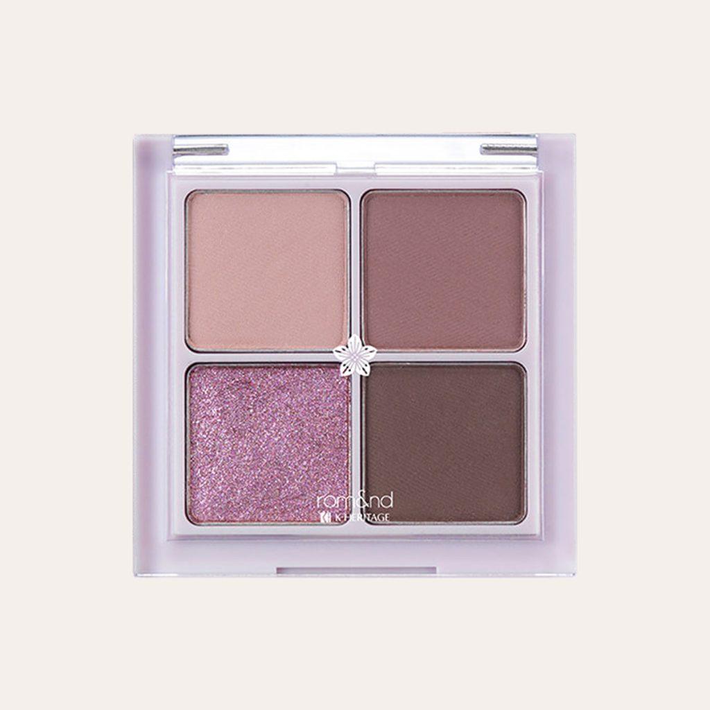 Romand - Hanbok Edition Better Than Eyes Palette N02 Dry Violet
