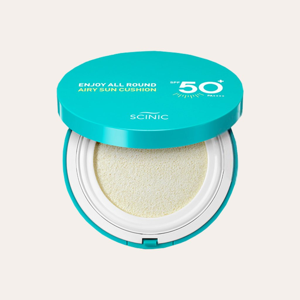 Scinic - Enjoy All Round Airy Sun Cushion SPF50+ PA++++
