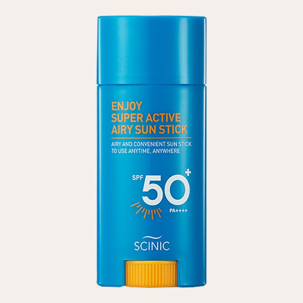 Scinic - Enjoy Super Active Airy Sun Stick SPF50+ PA++++