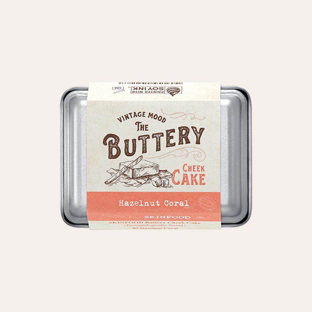 Skinfood - Buttery Cheek Cake 7 Hazelnut Coral
