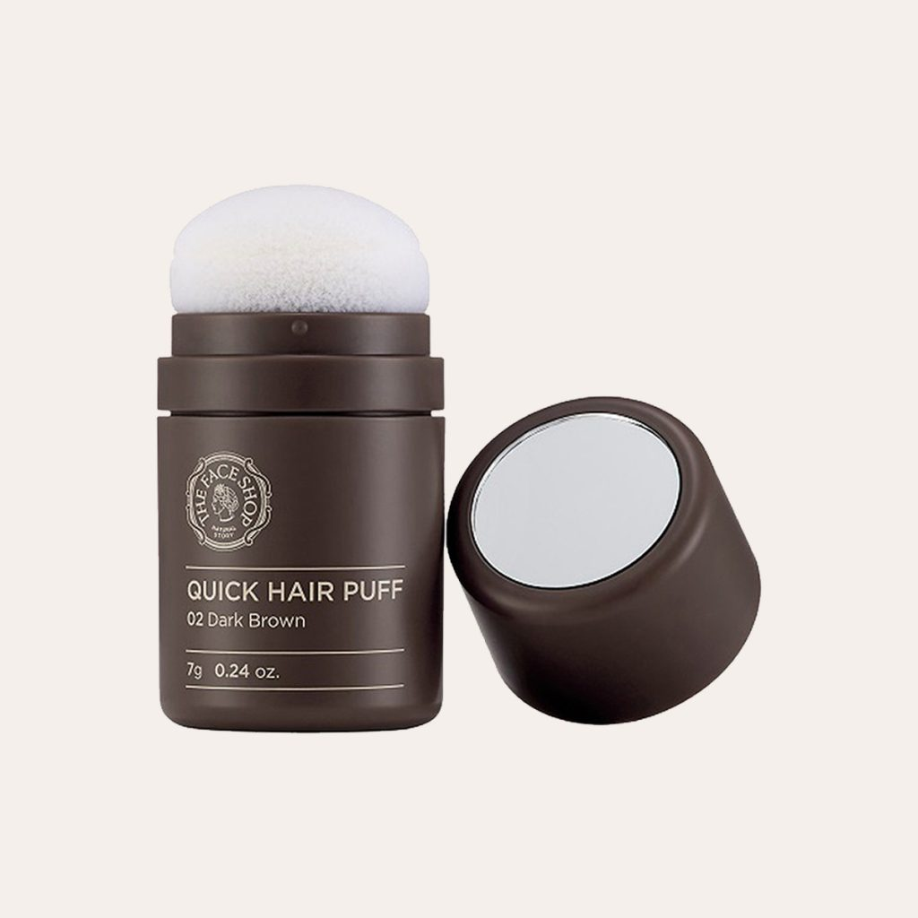 The Face Shop - Quick Hair Puff [#02 Dark Brown]