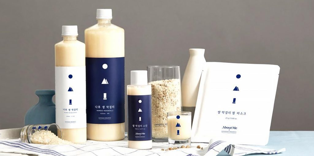 About Me - Rice Makgeolli line